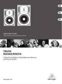 Behringer TRUTH B3031A User's Manual - Free PDF Download (4