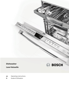 Bosch SPV68U53UC Instruction Manual