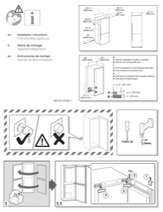 Bosch B11CB81SSS Installation Instructions