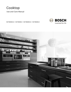 Bosch NET8668UC Instruction Manual