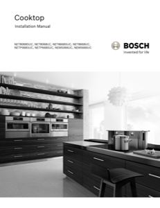 Bosch NET8668UC Installation Instructions