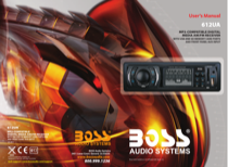 Boss Audio Systems 612UA User's Manual