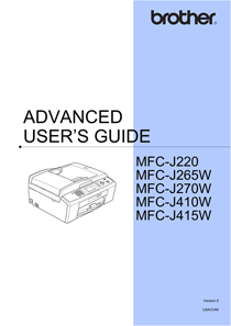 brother mfc j220 owner s manual free pdf download 59 pages rh manualagent com brother mfc-j410w driver download brother mfc-j410 driver