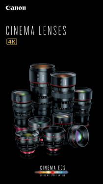 Canon CN-E15.5-47mm T2.8 L SP Brochure