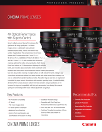 Canon CN-E135mm T2.2 L F Owner's Manual