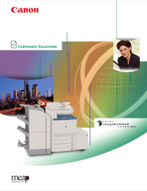 Canon Color imageRUNNER C4580i Brochure