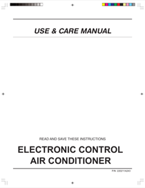 Frigidaire 220211A243 User's Manual