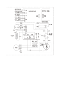 Frigidaire FFRH0822R1 Wiring diagram