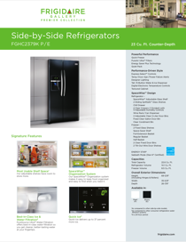 Frigidaire FGHC2379KP User's Manual