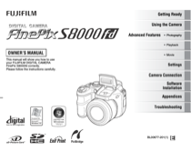 fujifilm finepix s8000fd owner s manual free pdf download 164 pages rh manualagent com fujifilm finepix s8000fd software download Fujifilm FinePix S-Series