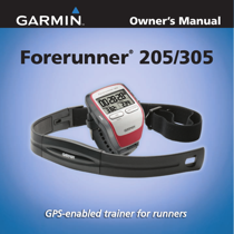 garmin forerunner 305 owner s manual free pdf download 80 pages rh manualagent com garmin forerunner 305 manuel français garmin forerunner 305 user manual