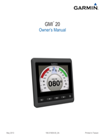 Garmin GND 10 Black Box Bridge Owner's Manual