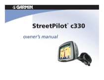 garmin streetpilot c330 owner s manual free pdf download 37 pages rh manualagent com C330 Garmin Replacement Parts garmin streetpilot c330 user manual