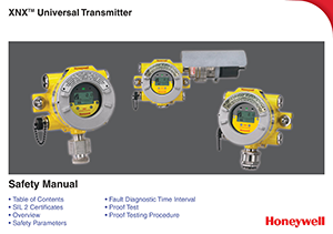 Honeywell XNX Universal Transmitter Safety Guide