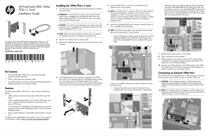 HP Compaq 8200 Elite Ultra-slim PC Installation Manual