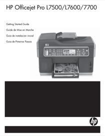 HP Officejet Pro L7590 All-in-One Printer User's Manual