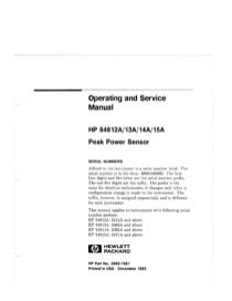 HP Yard Vacuum 13A User's Manual