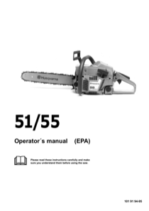 Husqvarna 51 User's Manual