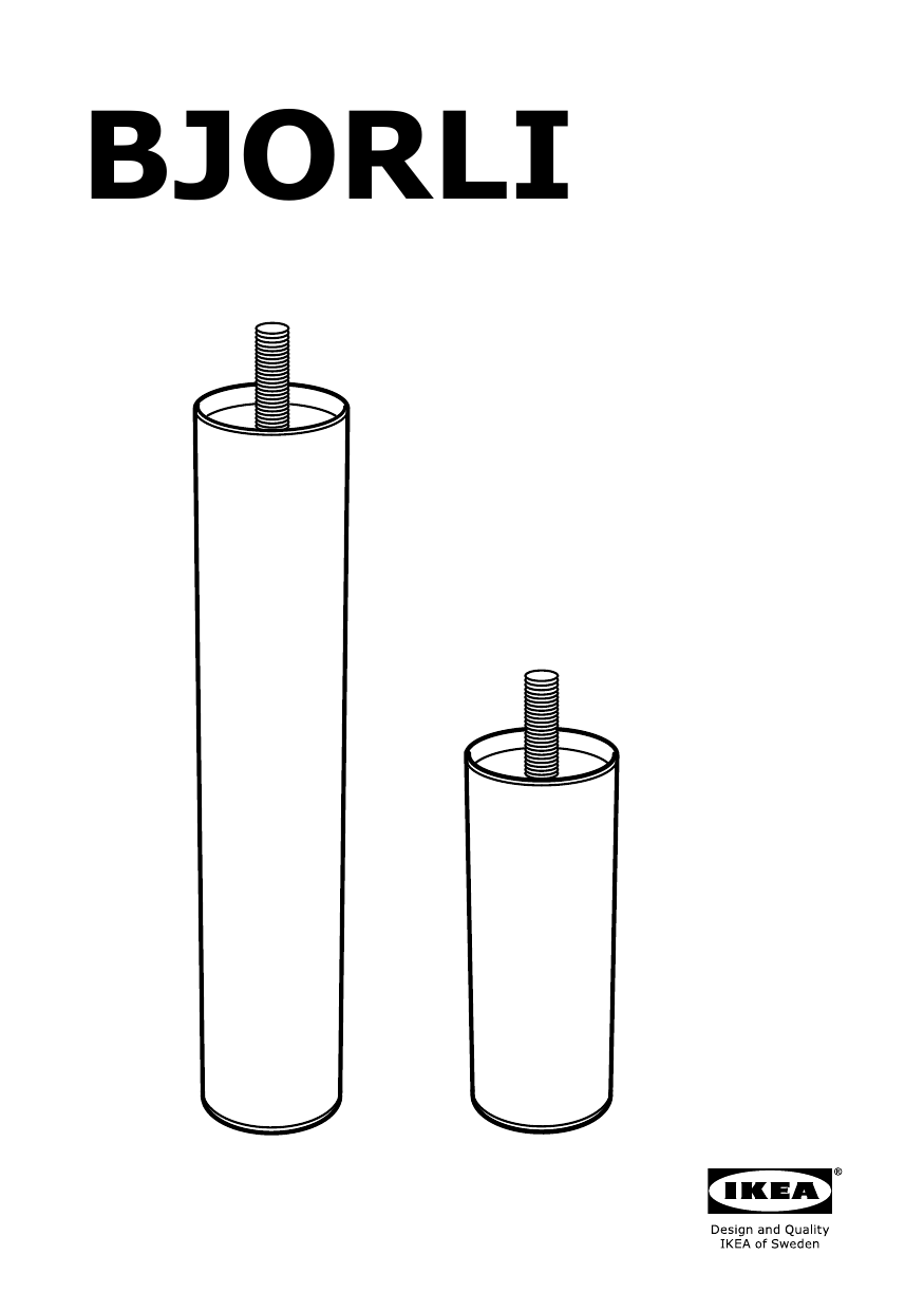 IKEA Bjorli Leg Assembly Instruction