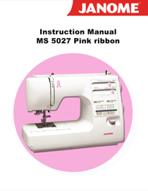 janome manual free download