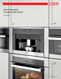 miele cva 6405 plumbed built in trim kit page 3 free pdf download 3 pages. Black Bedroom Furniture Sets. Home Design Ideas