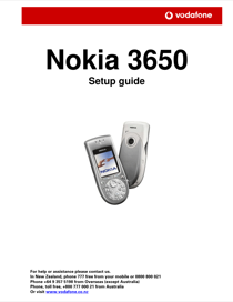 nokia 3650 user s manual free pdf download 217 pages rh manualagent com Nokia 7610 Nokia 6630
