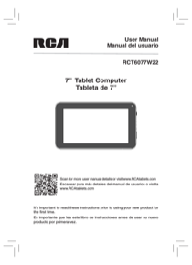rca rct6077w22 7 8gb owner s manual free pdf download 36 pages rh manualagent com rca universal remote control instruction manual rca universal remote control instruction manual