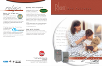 Rheem Classic Series: Up to 95% AFUE 2-Stage PSC Motor Product Literature