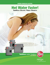 Rheem Tankless Electric RTE 13 Features Guide
