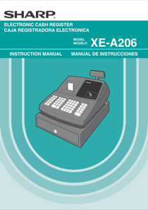 sharp xe a206 owner s manual free pdf download 116 pages rh manualagent com Sharp Xe- A415 Programming For Sharp Xe A206 Manual