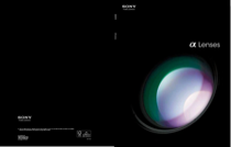 Sony NEX-F3K/B Brochure and Specifications