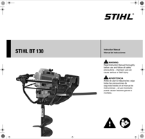 STIHL BT 130 Earth Auger Manuals Download
