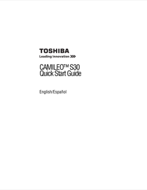 toshiba camileo s30 user s manual free pdf download 47 pages rh manualagent com toshiba camileo s30 manual pdf Toshiba Camileo H30
