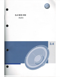 volkswagen 3 4 rcd 510 user s manual free pdf download 41 pages rh manualagent com rcd 310 user manual pdf rcd 310 user manual