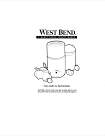 West Bend 6060 User's Manual