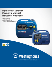 Westinghouse WH1000i Owner's Manual