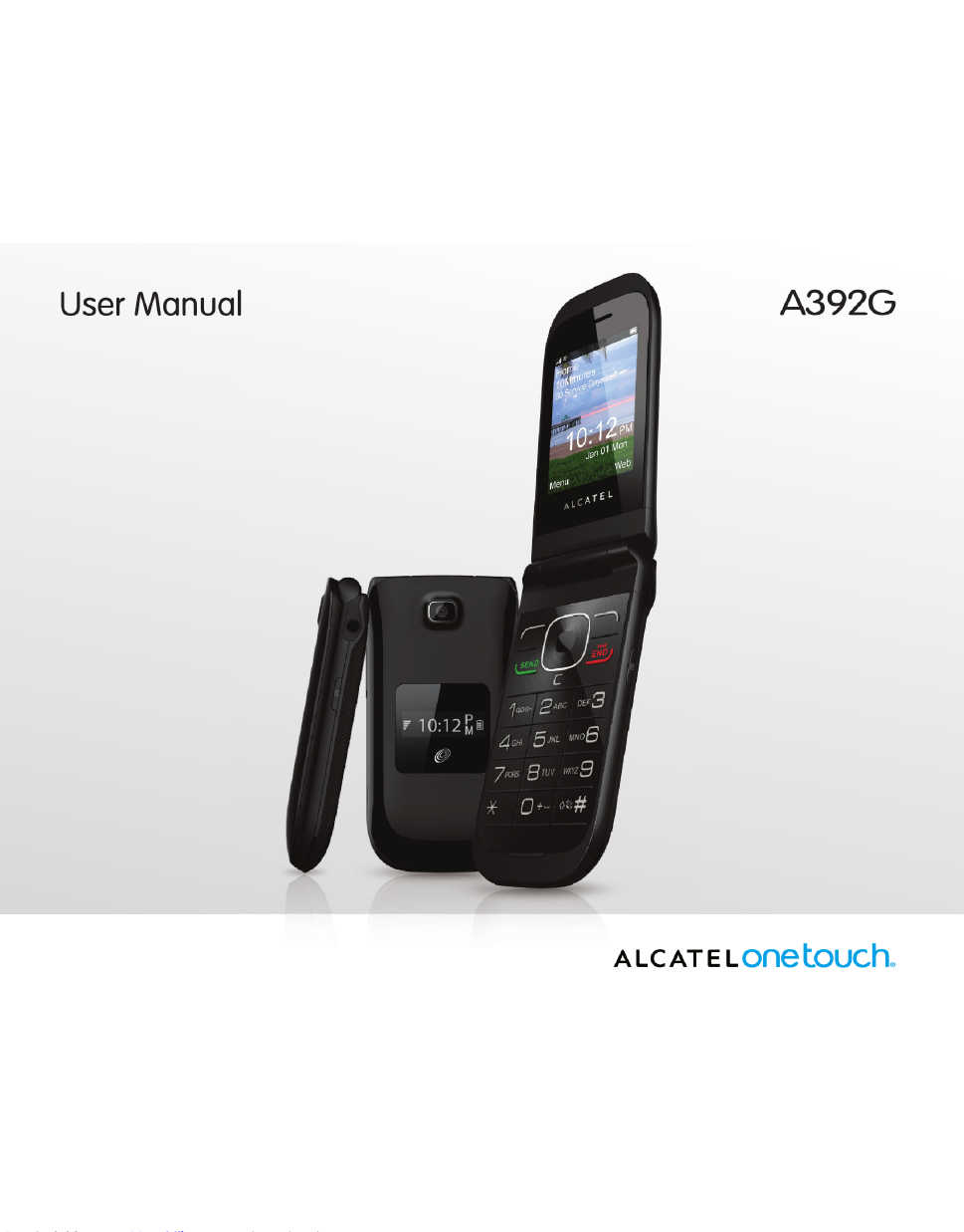 Alcatel A392G User Manual - Free PDF Download (51 Pages)