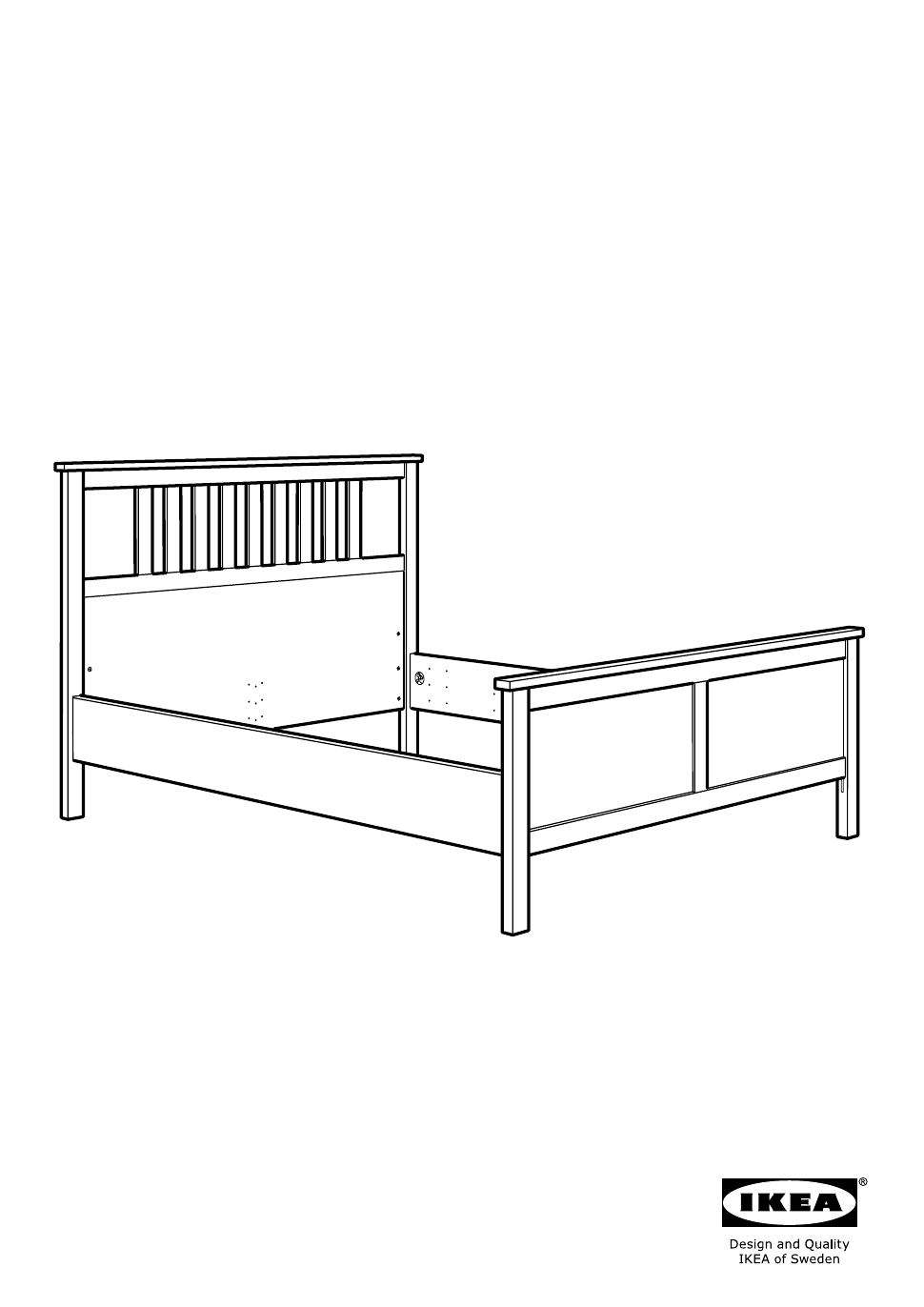 Ikea Hemnes Bed Frame Assembly Instruction Free Pdf