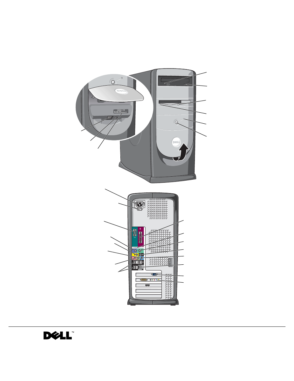 ... Array - dell dimension 8300 owner u0027s manual free pdf download 146  pages rh manualagent com