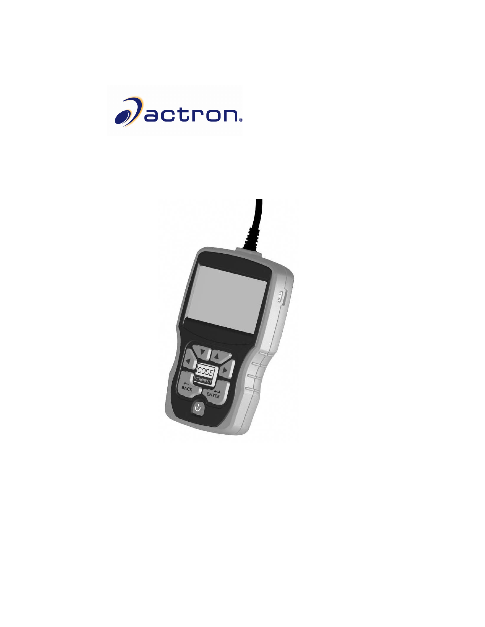 actron cp9580 instruction manual free pdf download 118 pages rh manualagent com Actron CP9575 Manual Actron Auto Scanner User Manual