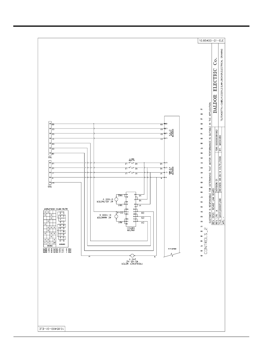 Baldor TS25 Installation Manual | Page 82 - Free PDF