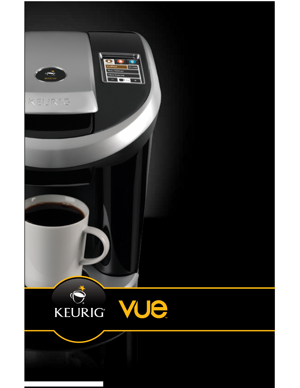 background image. Keurig® Vue™ Brewer