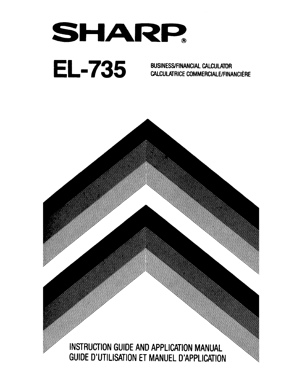 sharp el 735 user s manual free pdf download 86 pages rh manualagent com Sharp EL 5510 Manual Sharp EL 738