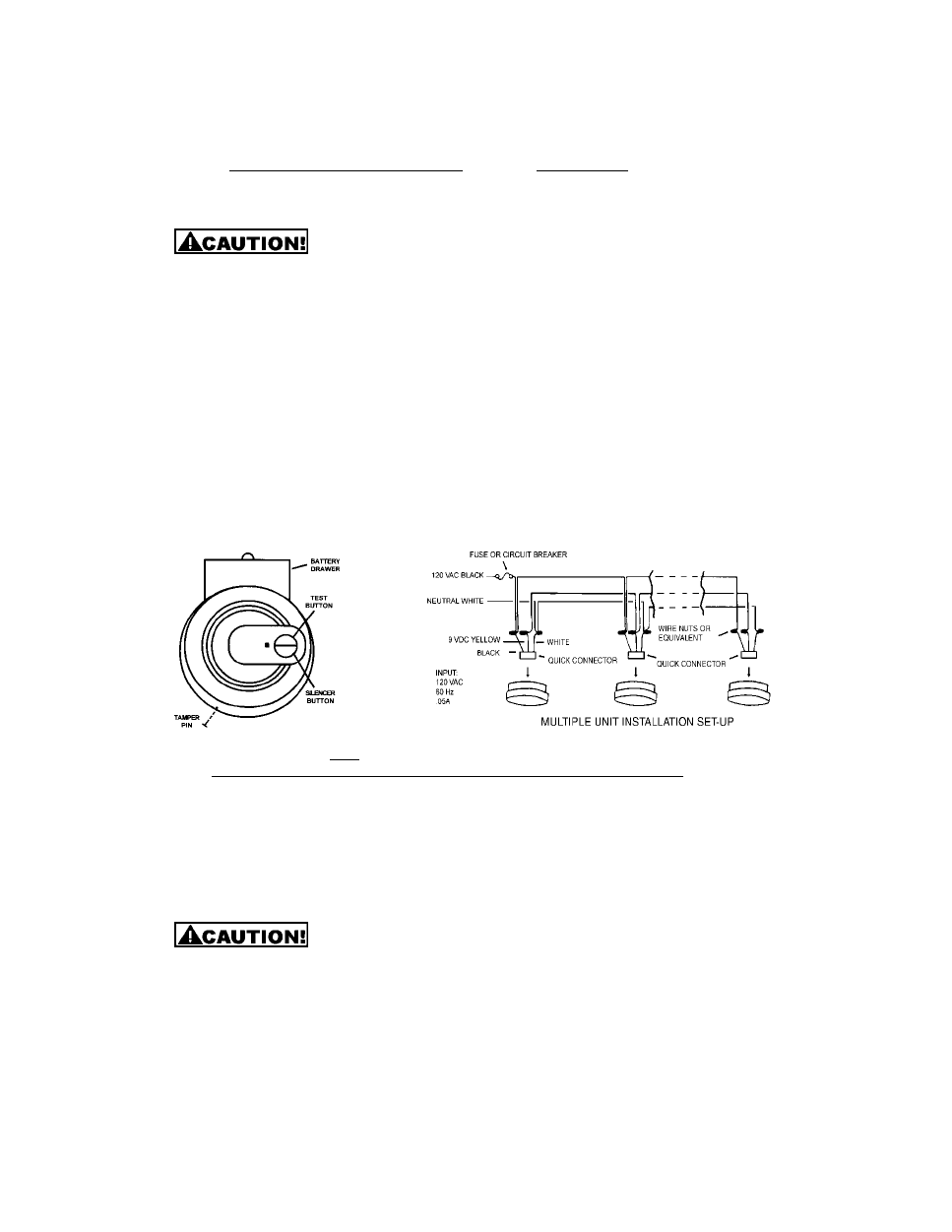 Universal Security Instruments Usi 5204 Users Manual Page 4 Apollo Xp95 Smoke Detector Wiring Diagram Background Image