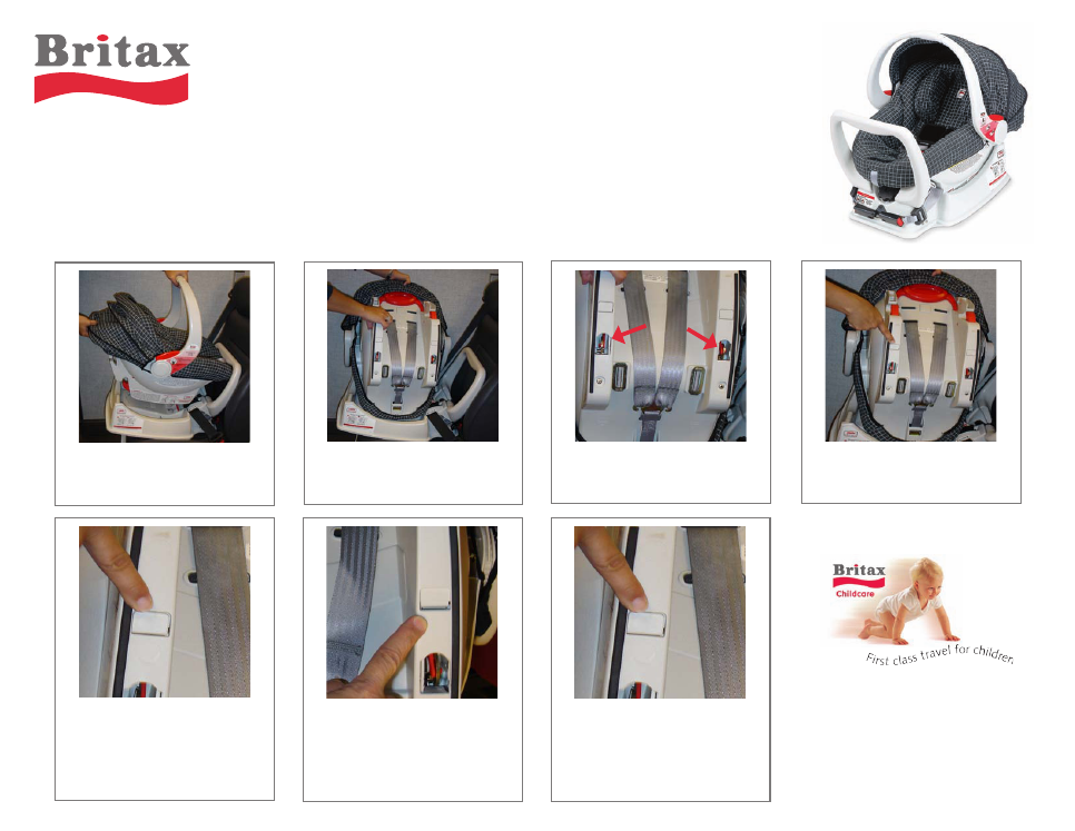 Britax Companion E9l14 User S Manual Free Pdf Download 1 Pages Rh Manualagent Com Boulevard Regent Car Seat Madison Photo