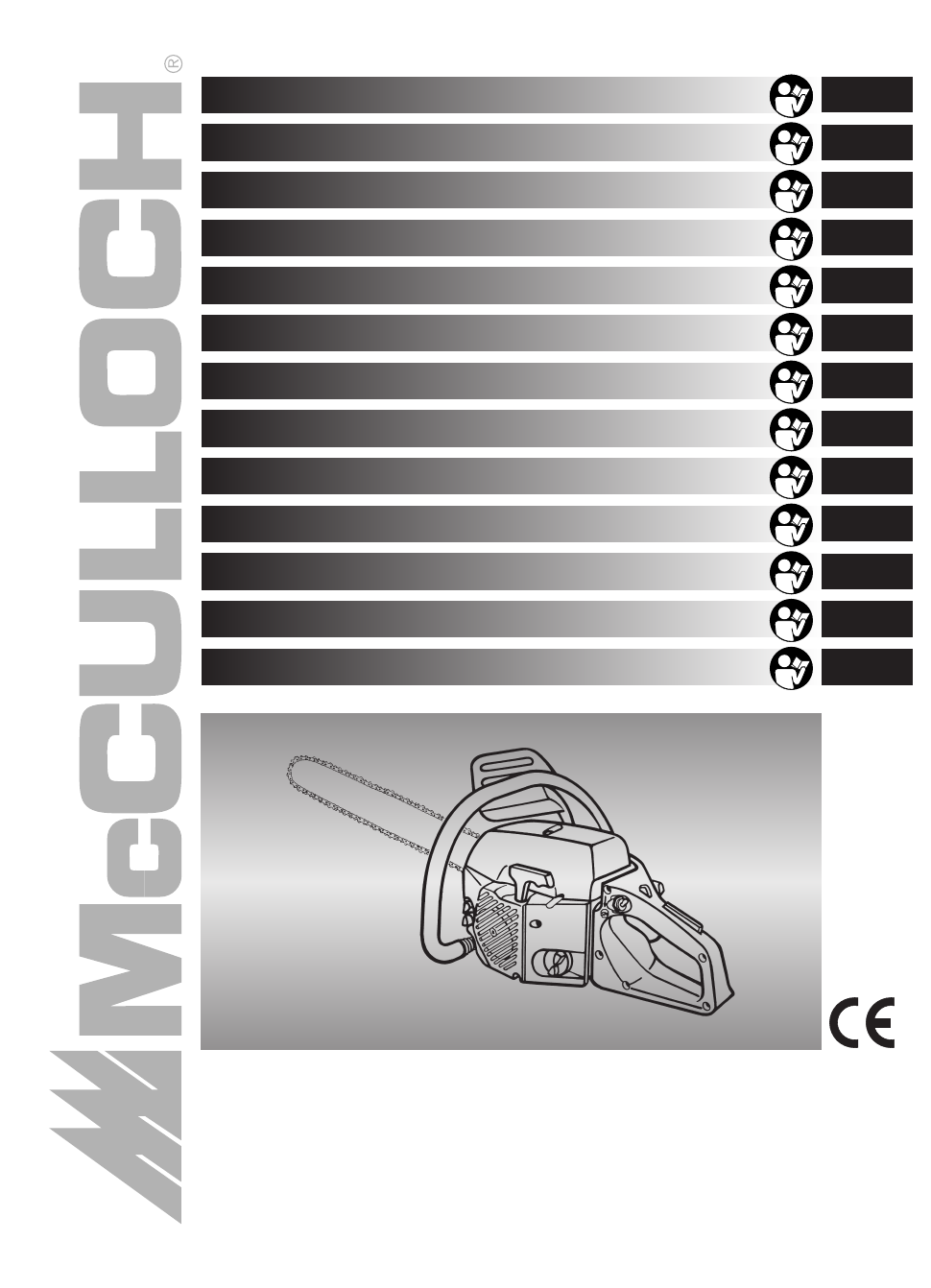 mccullough 538 user manual