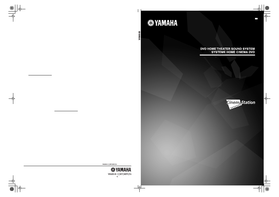 Pdf manual for yamaha home theater dvx-c310.
