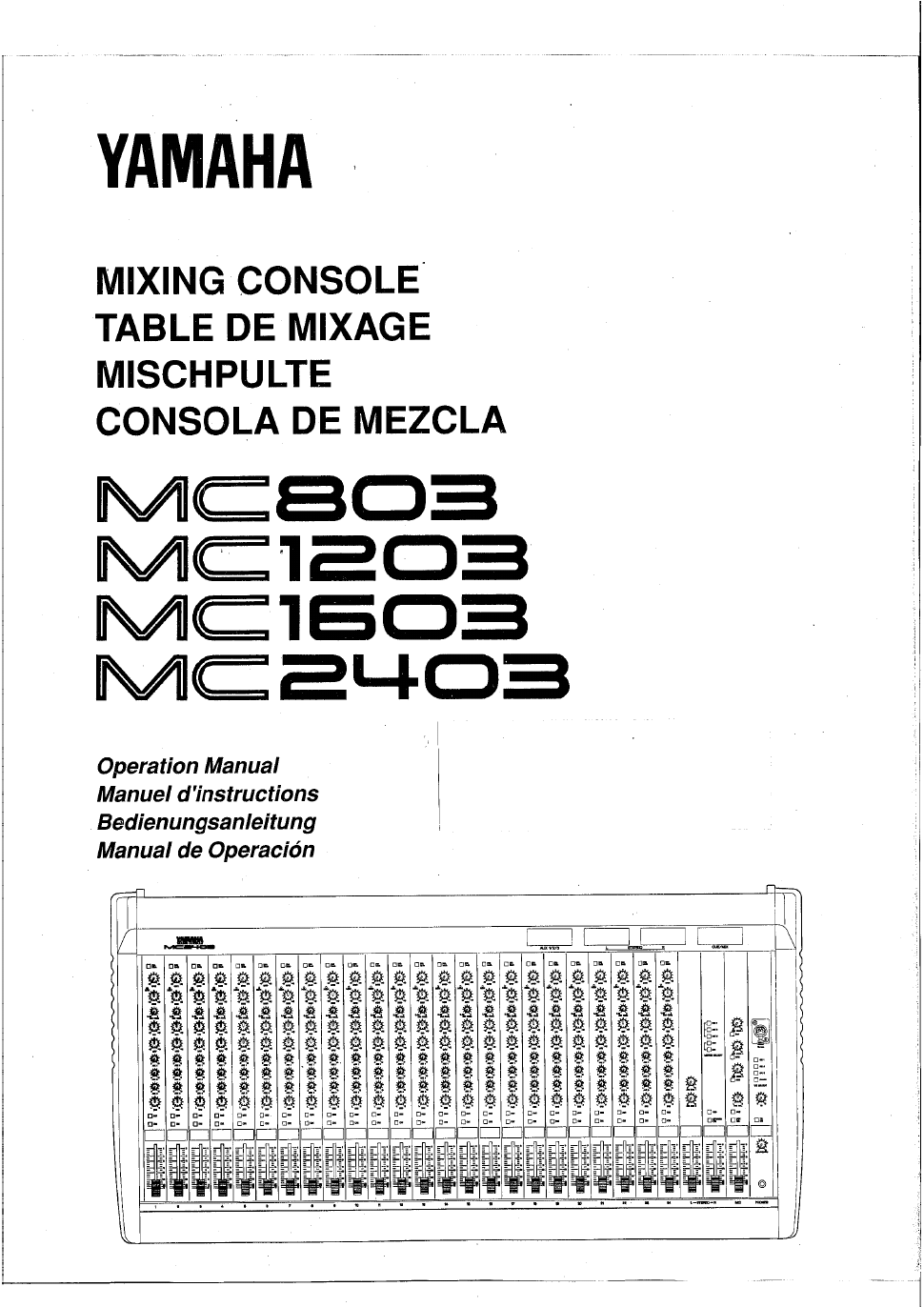 yamaha emx312sc powered mixer Array - yamaha mc1603 operation manual free  pdf download 61 pages rh manualagent com