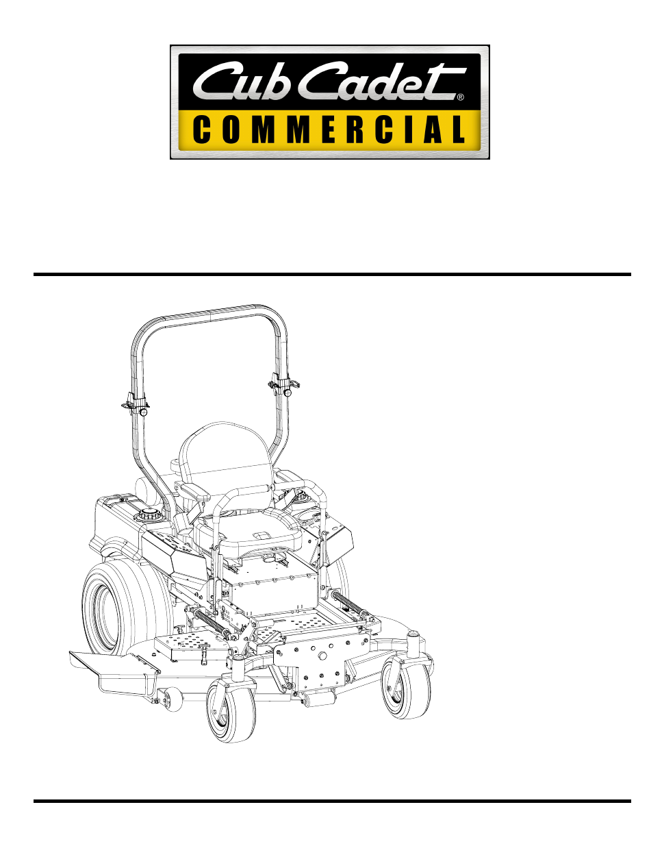 cub cadet 54 mower deck manual