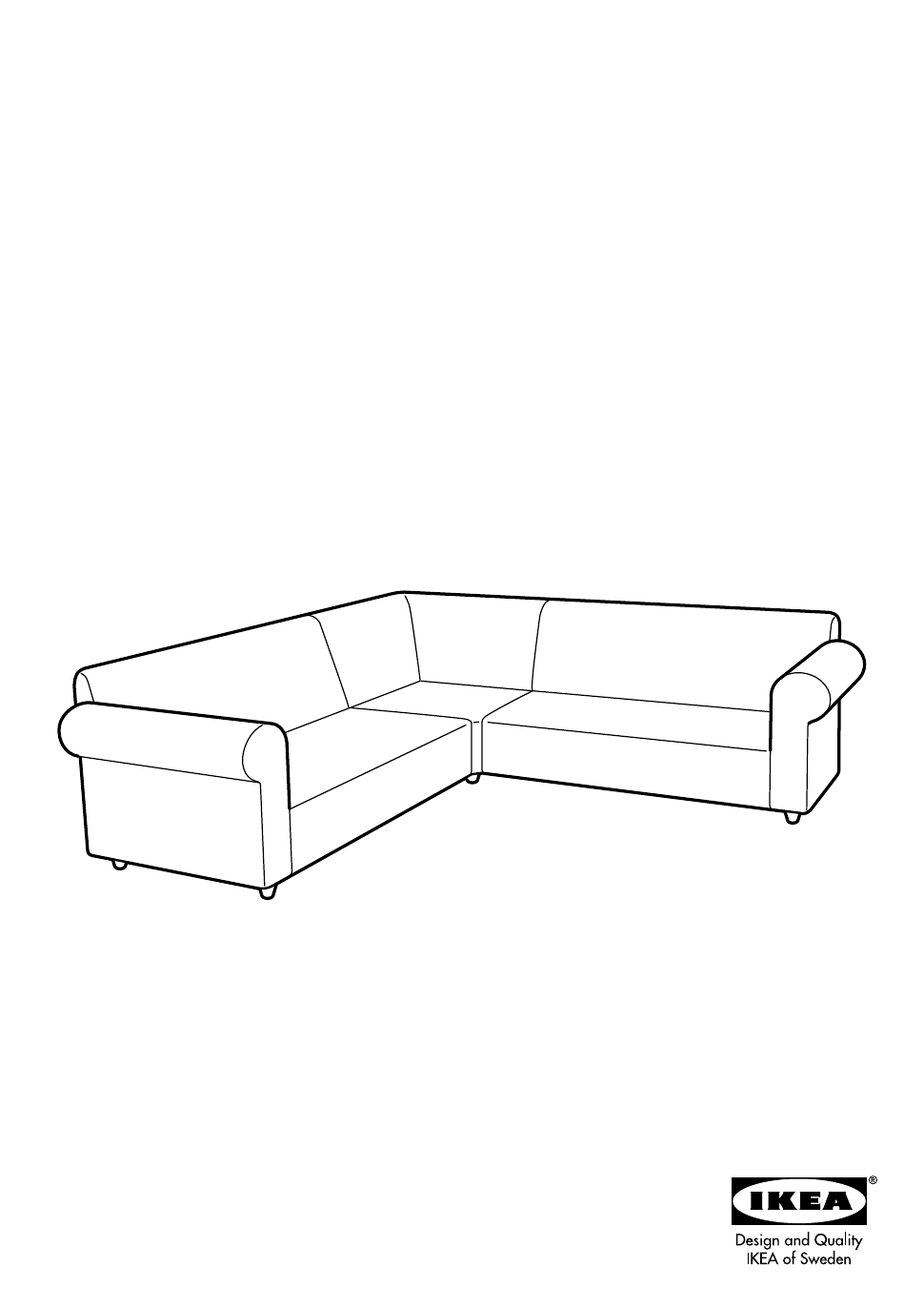 Ikea Kivik Chaise Lounge Google Search: Kivik Sofa Assembly Instructions Pdf